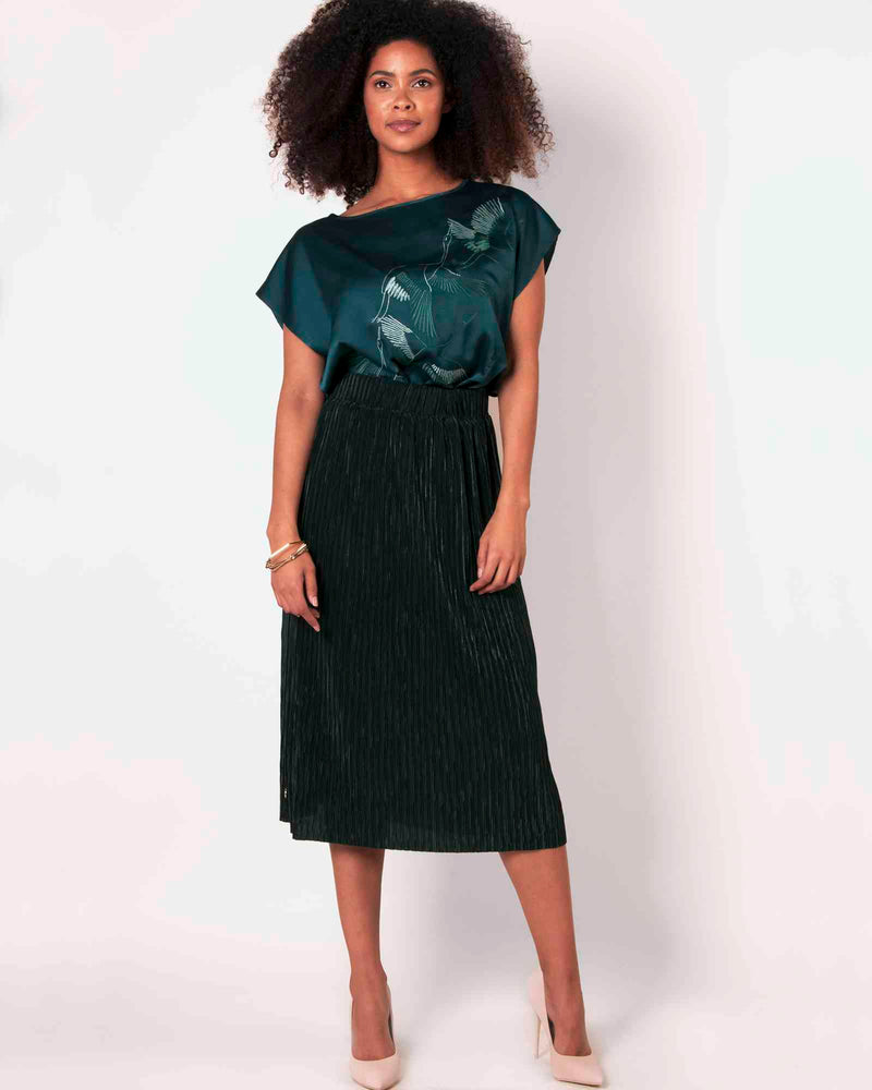Boxy Skirt - Pacific
