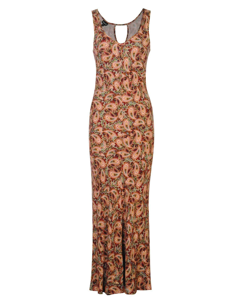 Bias Cut Maxi Dress
