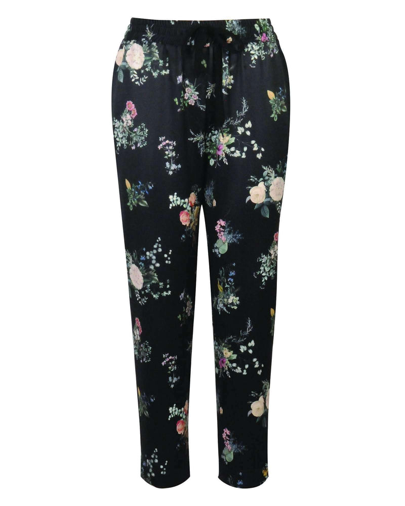 Cropped Jogger - Night Meadow