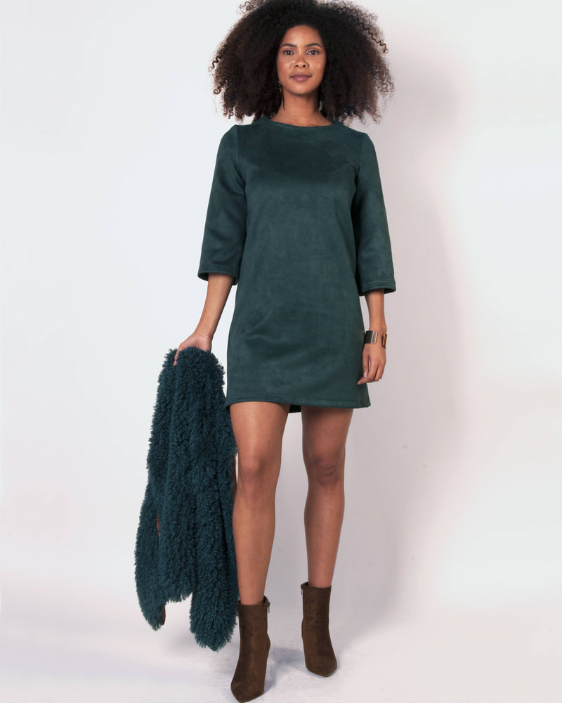 Cuba Tunic Dress - Fir