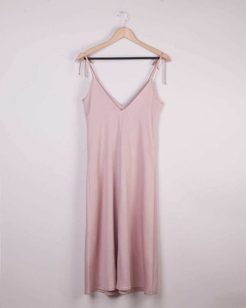 Woven Cami Slip Dress - Dusty