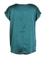 Factory Store | Embelished Boxy Top - Green