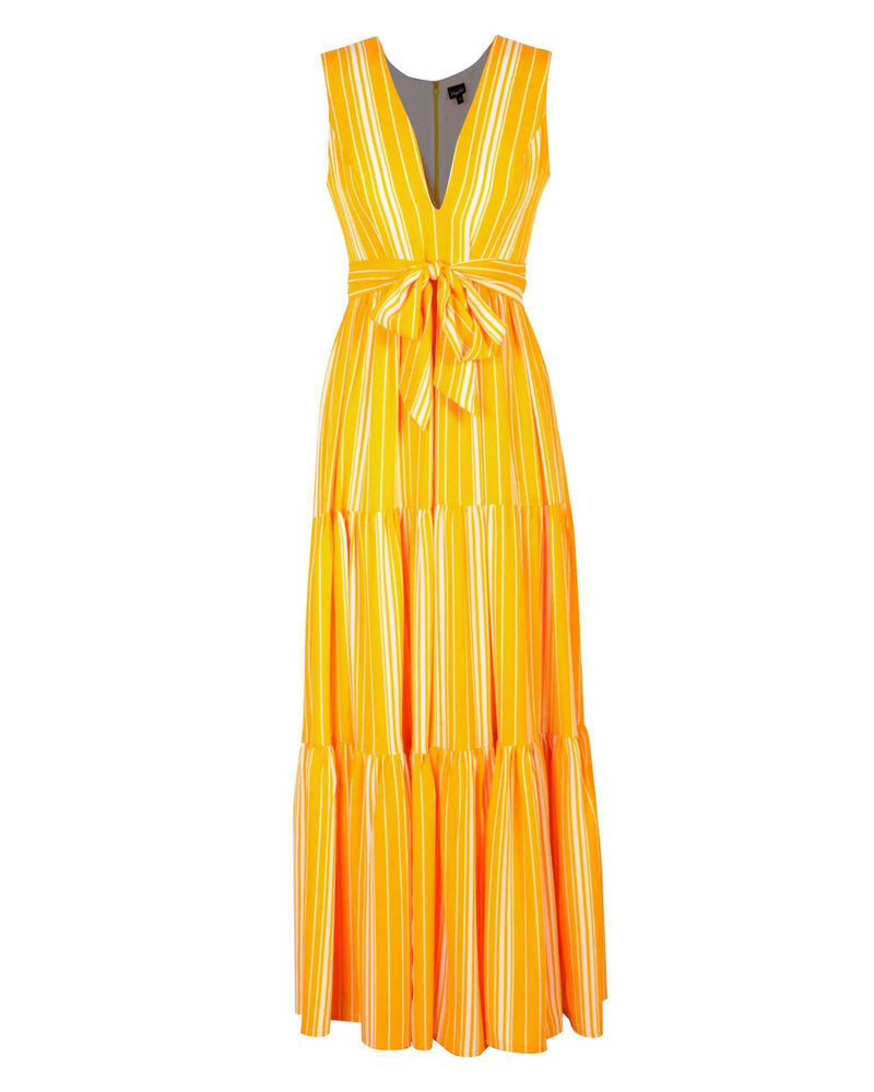 Fiona Maxi - Yellow Stripe
