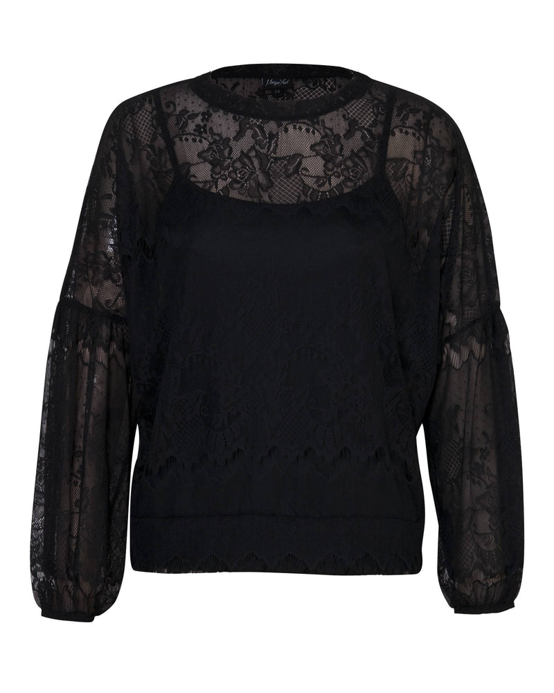 Bishop Sleeve Top - Lace