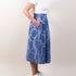 Lucy Piano Skirt - Blue