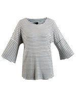 Micha Dolman Top - Black Stripe