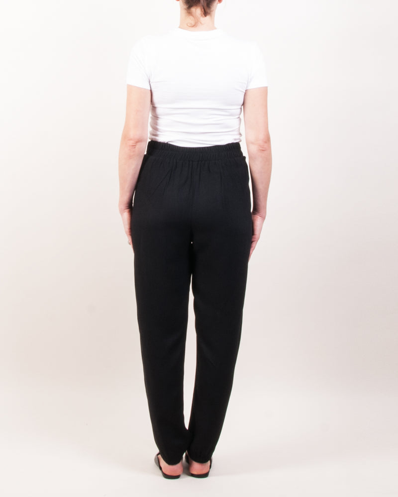 Ray High Waist Pants - Black