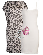 Tunic Cami Mask 3 Piece - Animal Print