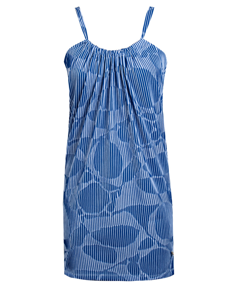 Pillowcase Dress - Piano Blue