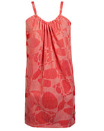 Pillowcase Dress - Piano Red