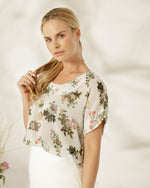 Sheer Rise Boxy Top - Wild Meadow