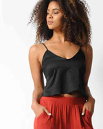 Factory Store | Cropped Cami - Black