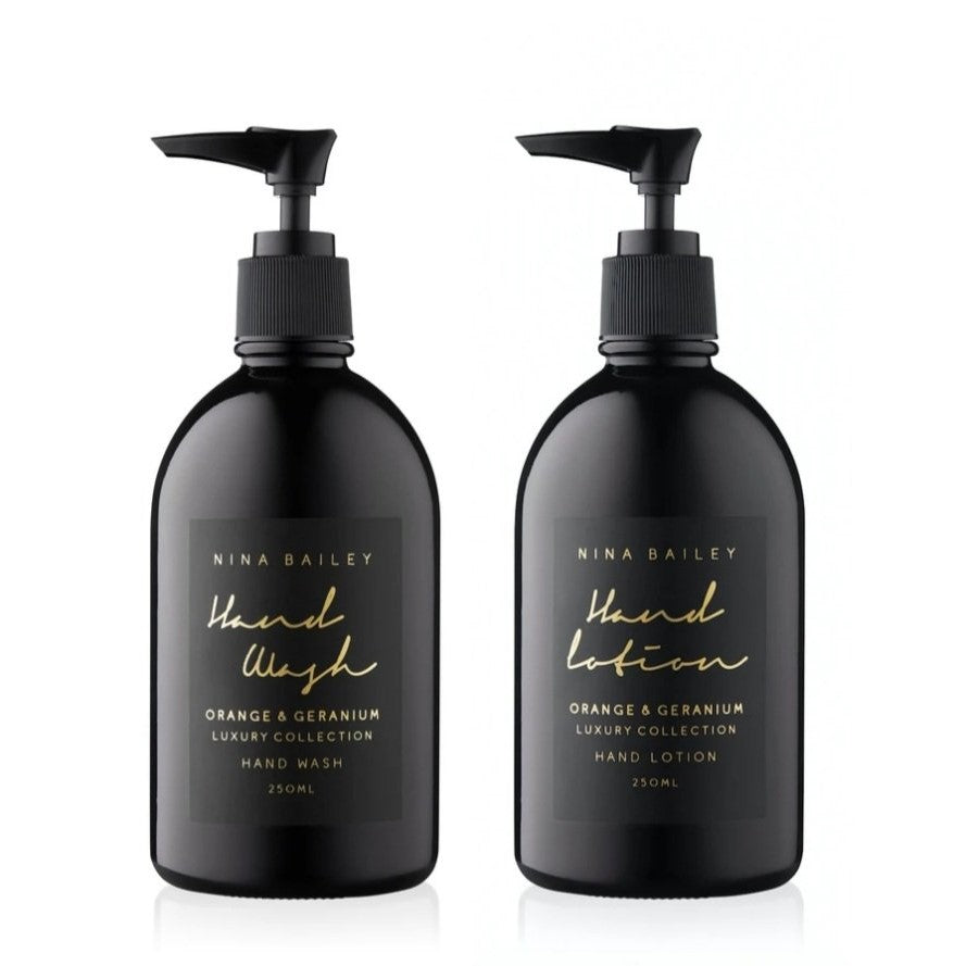 Noir Orange & Geranium Hand Wash and Lotion Duo - That Box Co