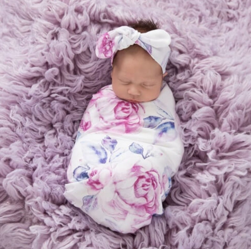 Snuggle Swaddle & Beanie Set - That Box Co