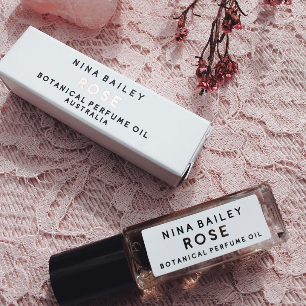 Rose Natural Perfume Oil - That Box Co
