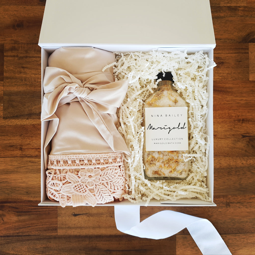 Champagne Bridesmaid Gift Box - That Box Co