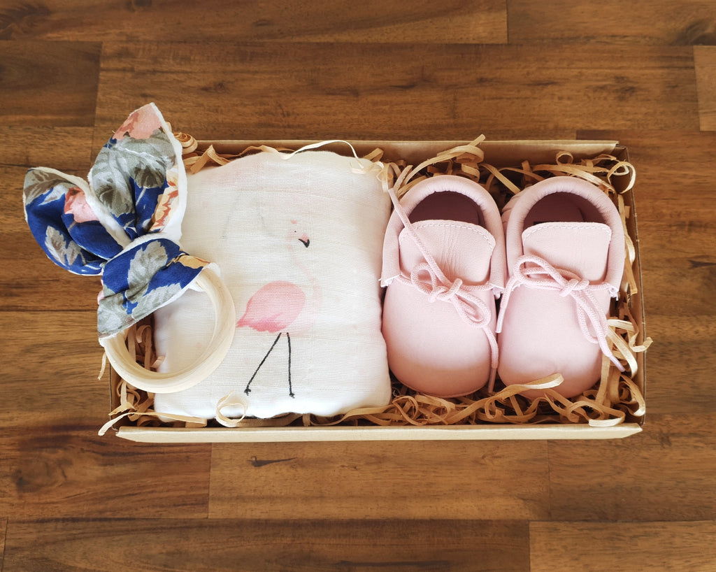 First Steps Gift Box - Pink - That Box Co