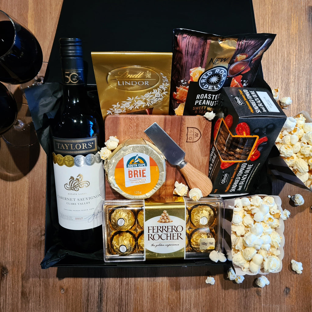 GOLD CLASS Movie Night Gift Box - That Box Co