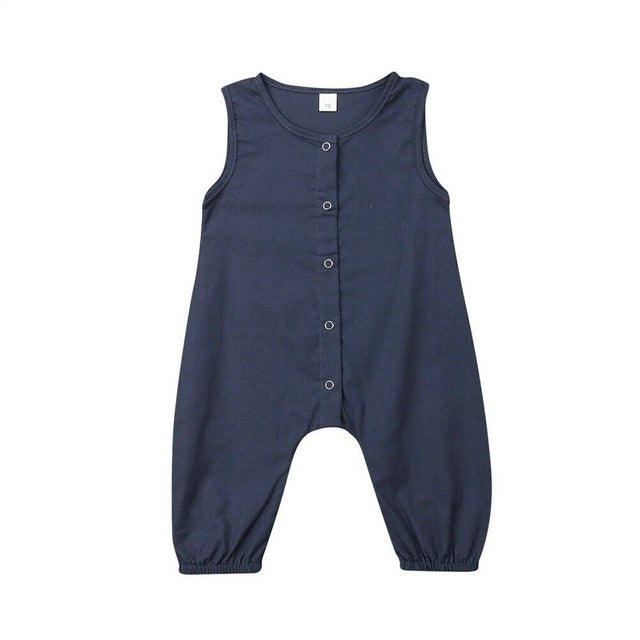 Sleeveless Jumpsuit - That Box Co