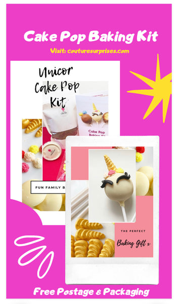 Unicorn Cake Pop Kit