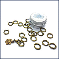 Bronze Twist Ring Markers