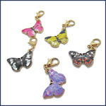 Butterfly Summer Stitch Marker Set
