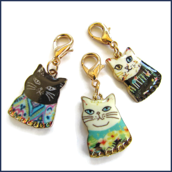 Cool Katz Stitch Marker Set