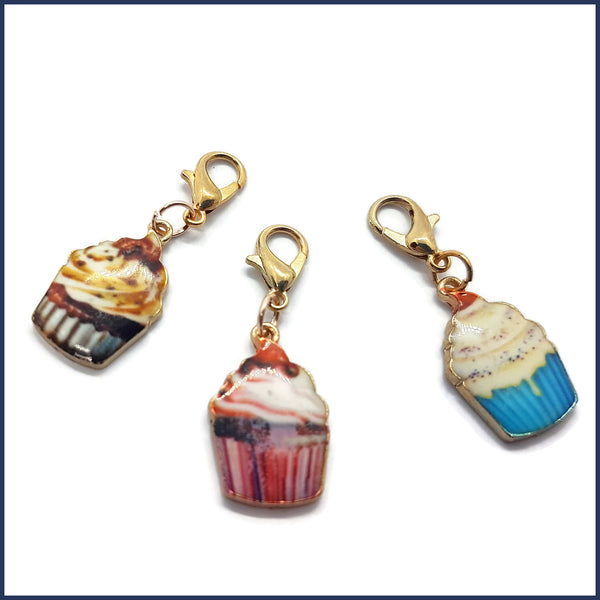 Cupcake Stitch Marker Set