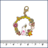 bunny stitch marker with ruler