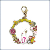 bunny stitch marker for crochet or knitting