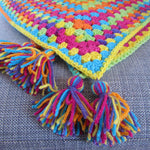 Easy Peasy Super Speedy Crochet Baby Blanket Pattern