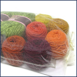 yarn kit for a crochet cushion