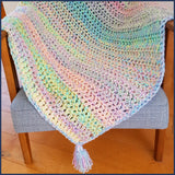 Four Square Crochet Blanket - Free Pattern