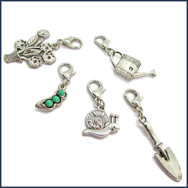 Green Fingers Stitch Marker Set