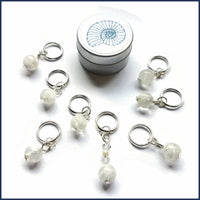 Ice Cave Knitting Stitch Marker Set