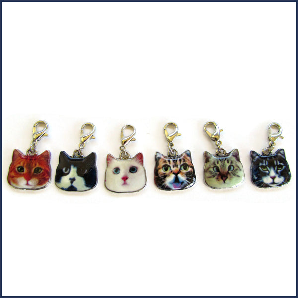 Indenti-Cat Parade Stitch Marker Set