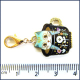 Kitty Cuppa Stitch Marker Set