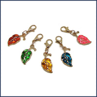 Leaf Fall Stitch Marker Set