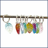 Leafy Bower Knitting Stitch Marker Set