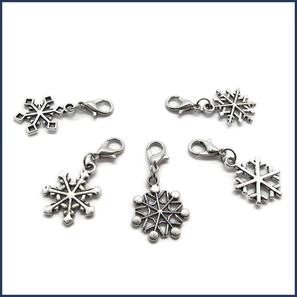 Let It Snow Stitch Marker Set