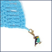 Little Birds Enamel Stitch Marker Charms