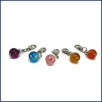five stone stitch markers