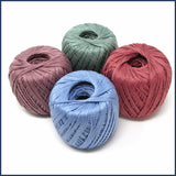 four balls cotton yarn