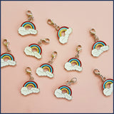 Rainbow of Hope Stitch Marker