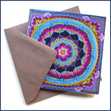 crochet card with envelope