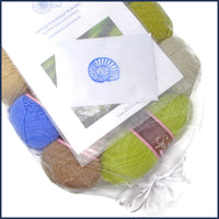 yarn kit for a crochet blanket