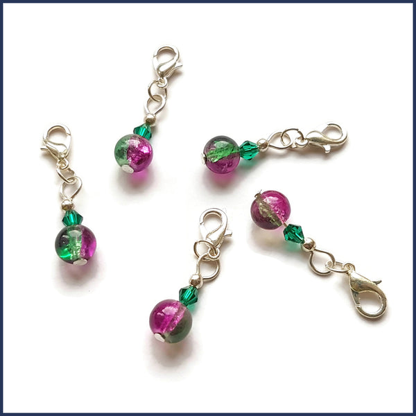 Sweet Pea Stitch Markers