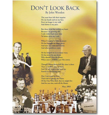 Dont Look Back Poster