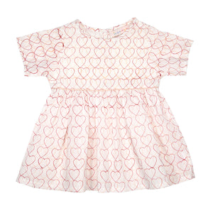 Dress - Pink Hearts