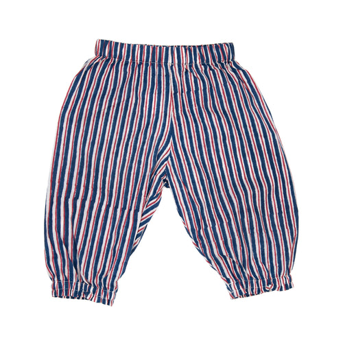Trousers - Dark Blue Stripe